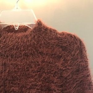 🥀SOLD🥀 Fuzzy Sweater